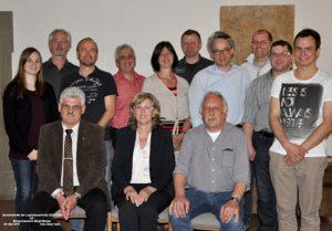 Gemeinderäte Prosselsheim 2018